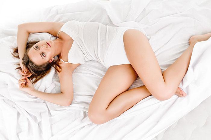 Sleeping posture example